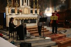 Nadine en concert en trio